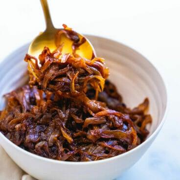 Caramelized onion recipe