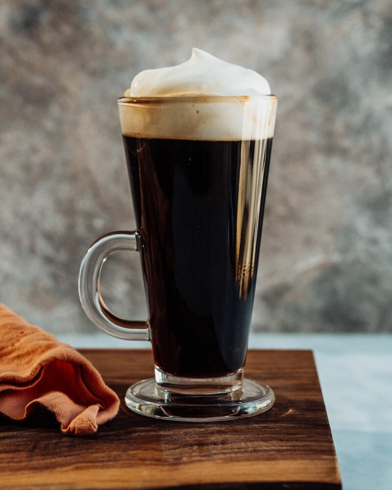 Irish coffee ingredients