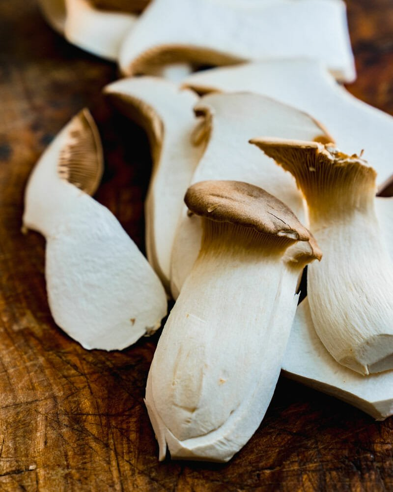 King Oyster Mushrooms, King Trumpet Mushrooms