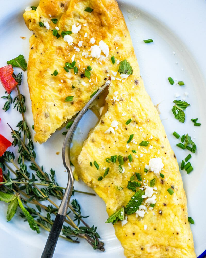 Classic Omelette A Couple Cooks