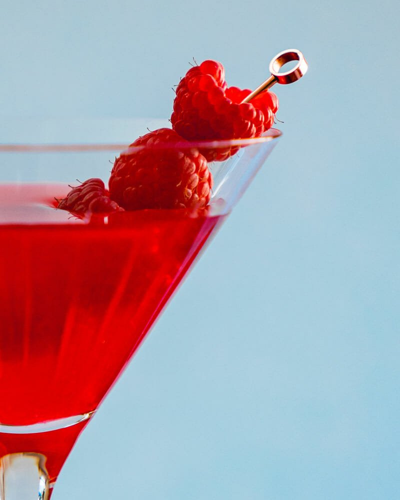 Raspberry cocktail
