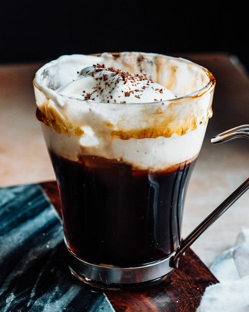 Spanish coffee recipe