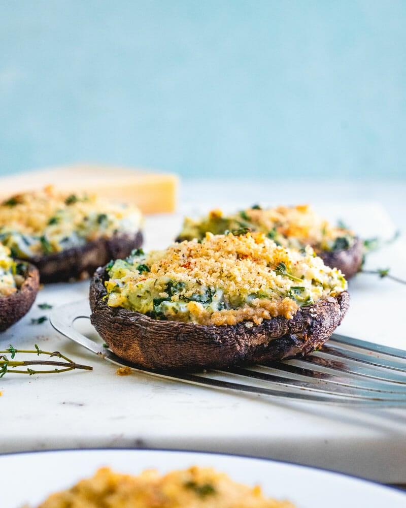 Stuffed portobello mushroom recipes