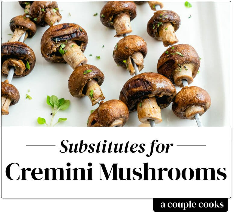 Cremini mushroom substitute