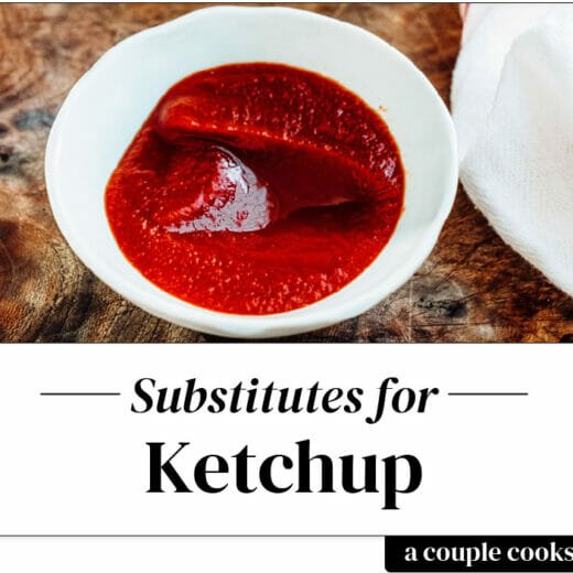 Ketchup substitute