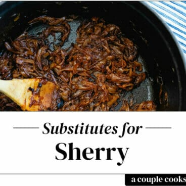 Sherry substitute