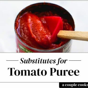Tomato puree substitute