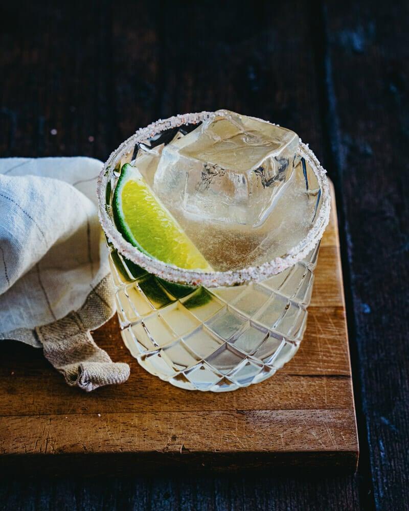 Margarita recipe with agave