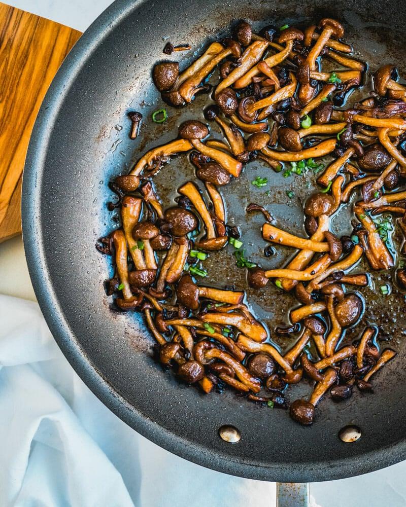 Beech mushrooms
