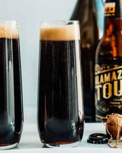 Black Velvet drink