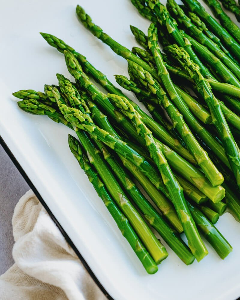 How long to blanch asparagus