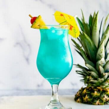 Blue Hawaii Drink