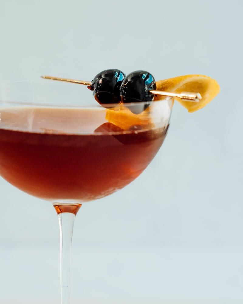 Brandy Manhattan recipe