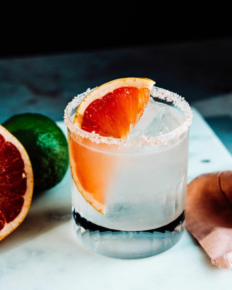 Spicy grapefruit margarita recipe