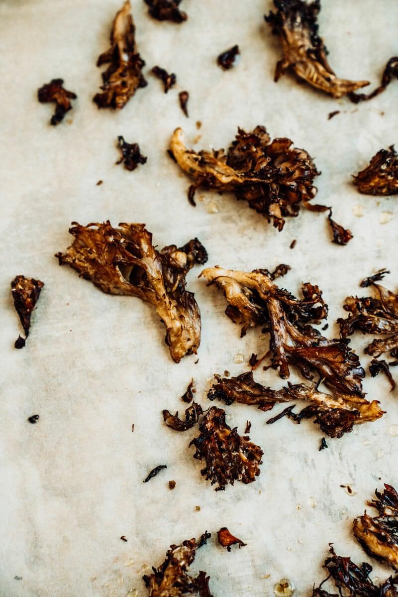 Hen of the Woods mushrooms