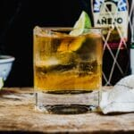 Rum and ginger ale