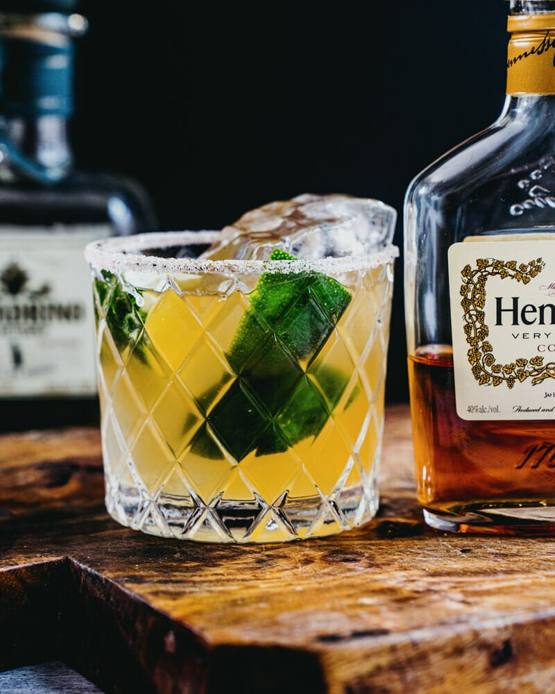 Hennessy margarita