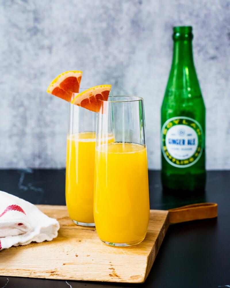 Non alcoholic mimosa