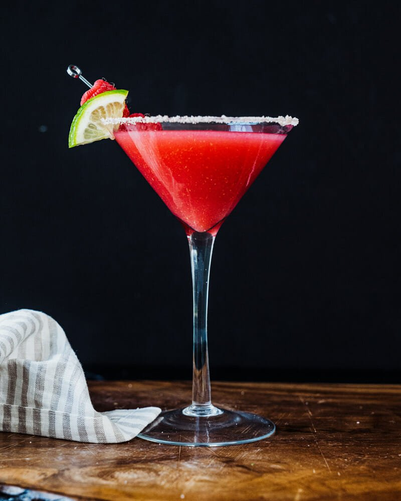 Raspberry cocktails, raspberry drinks