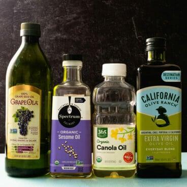 Vegetable oil vs olive oil