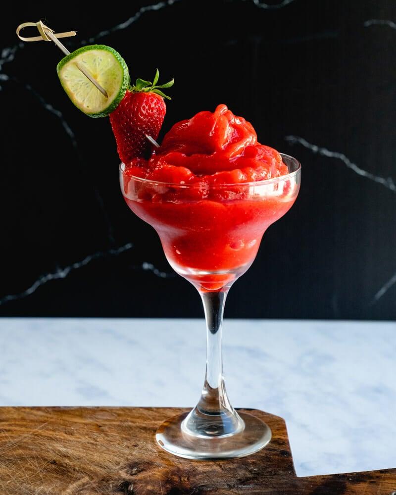 Virgin strawberry daiquiri recipe