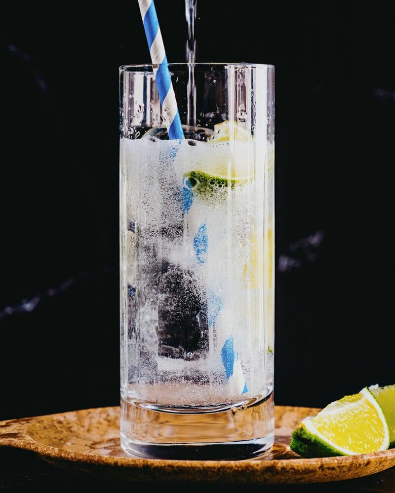 Vodka and ginger ale