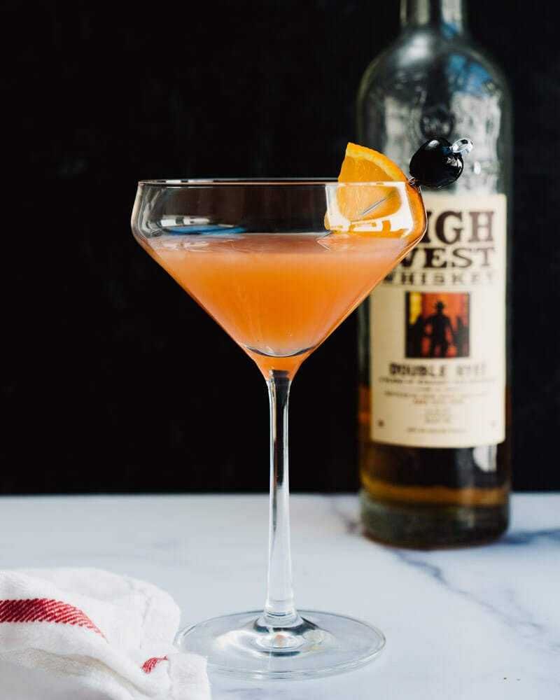 Rye whiskey cocktails