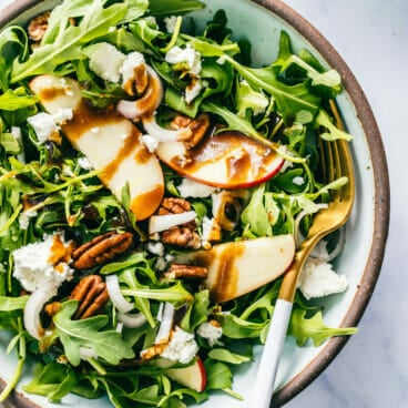 Arugula Goat Cheese Salad