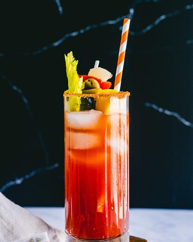 Bloody Caesar drink