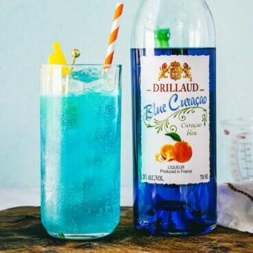 Blue curacao drinks, blue drinks