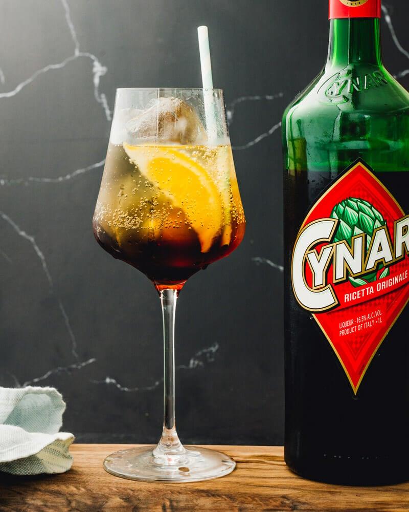 Cynar spritz
