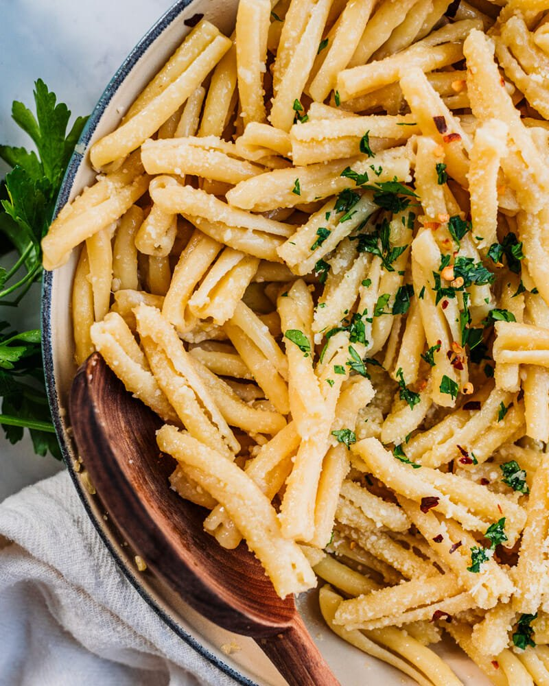 Garlic butter sauce pasta