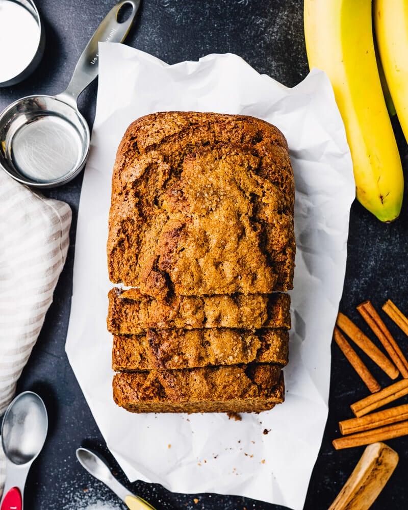 Roti pisang bebas gluten