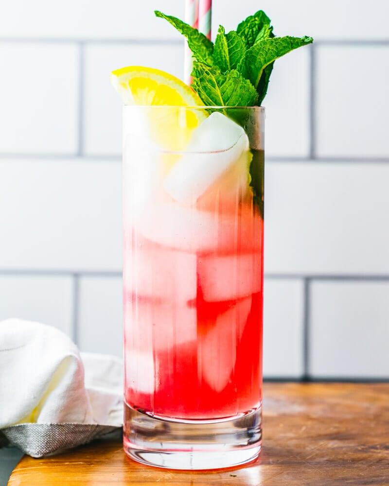 What makes Pink lemonade pink