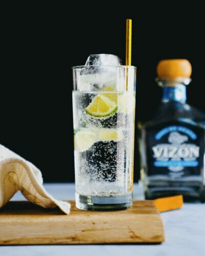 Tequila and tonic