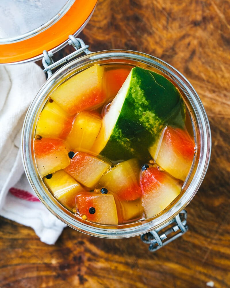 Pickled Watermelon Rind 005