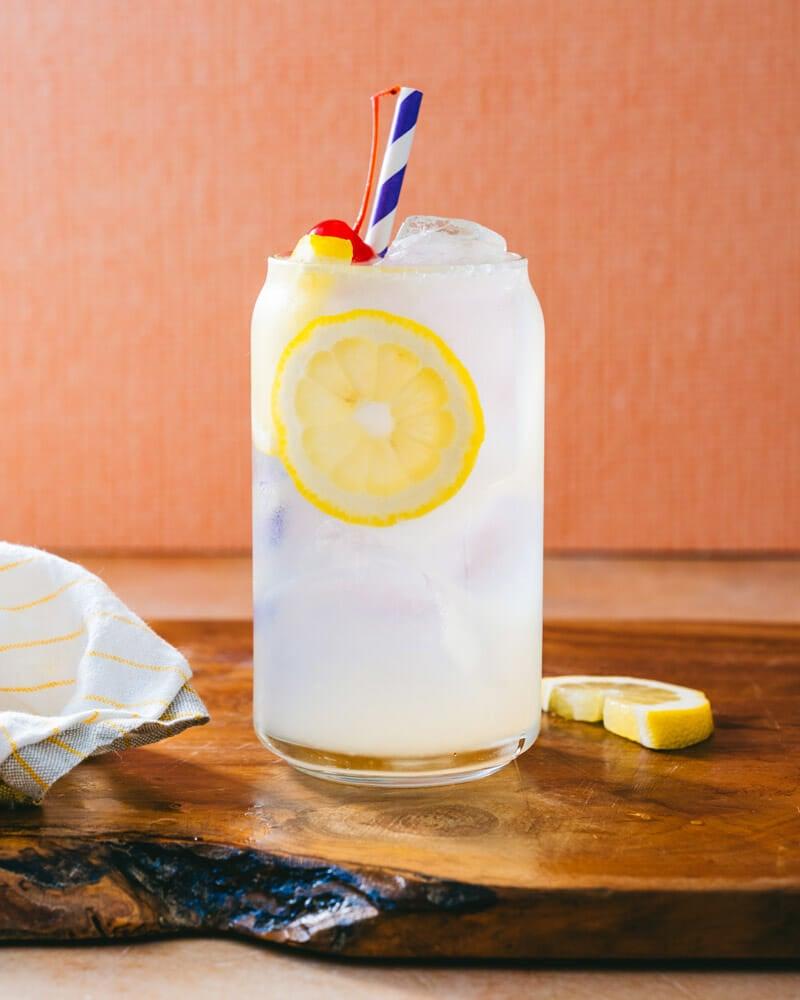 Rum lemonade