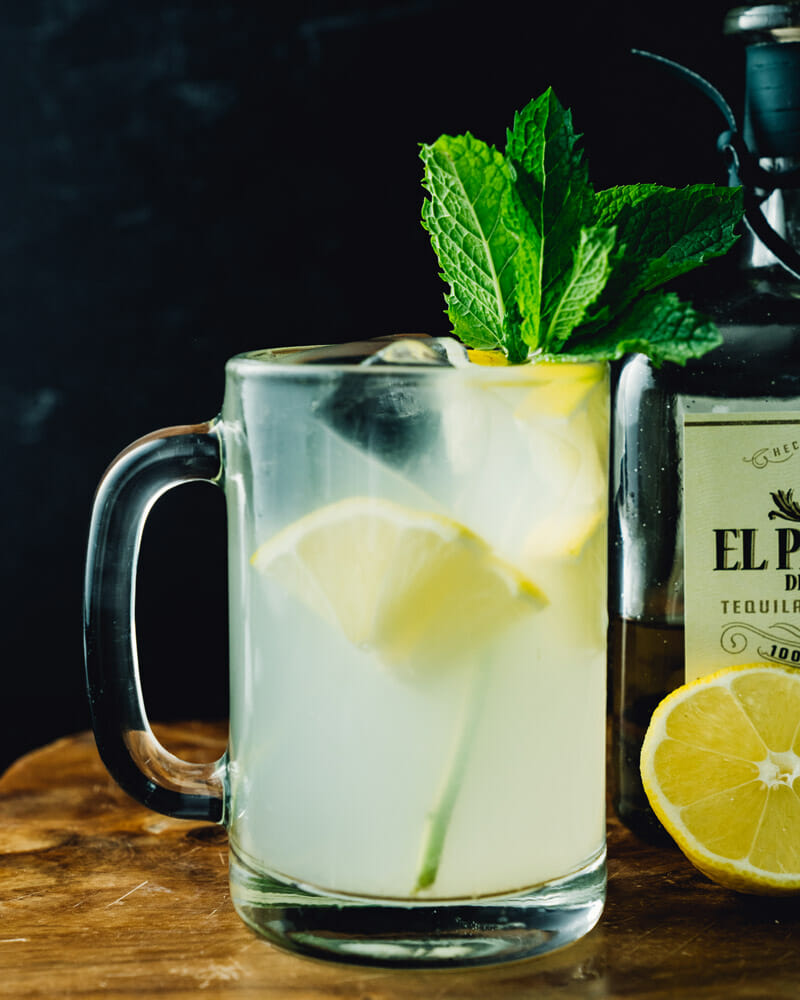 Tequila and lemonade