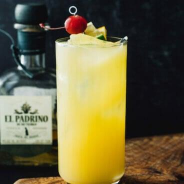 Tequila and orange juice