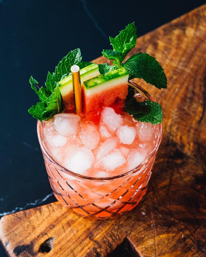 Watermelon smash drink