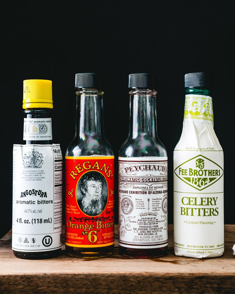 What are bitters? Angostura bitters, Peychaud's bitters