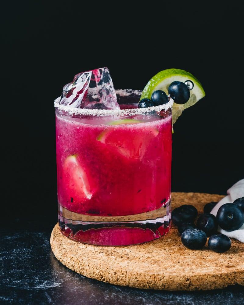Blueberry margarita