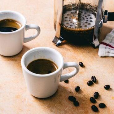 French press espresso