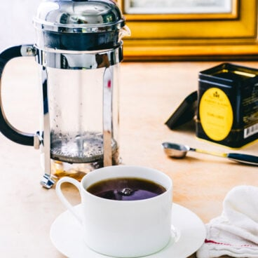 French Press Tea