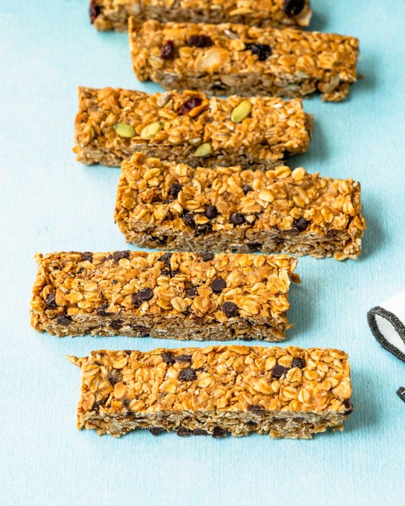 Granola bars recipe