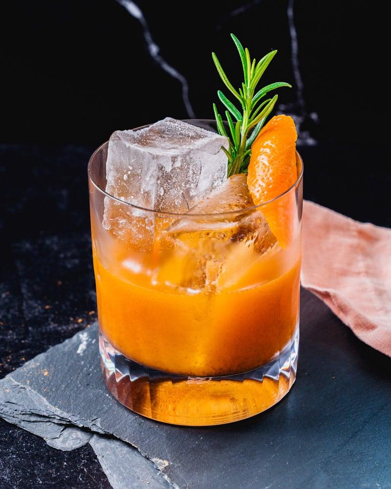 Pumpkin Cocktail Pumpkin Old Fashioned