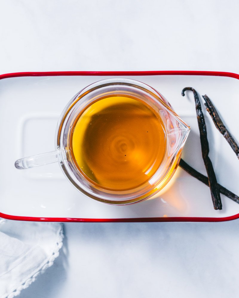 How to make vanilla syrup