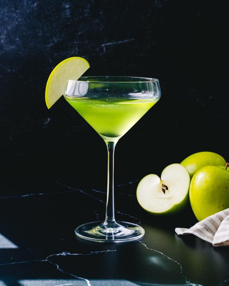 Apple martini, aka Appletini