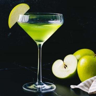 Apple martini appletini