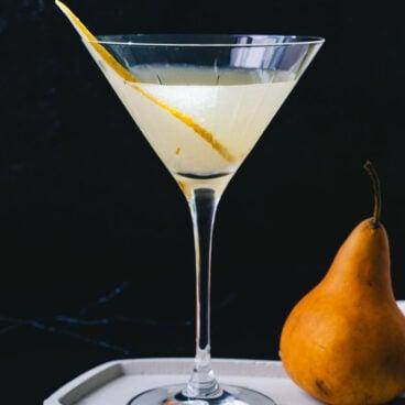 Pear martini recipe